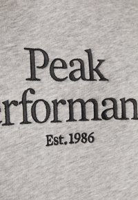 Peak Performance - ORIGINAL HOOD - Felpa con cappuccio - medium grey melange - 5
