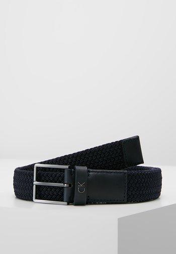 FORMAL ELASTIC BELT - Belt - blue