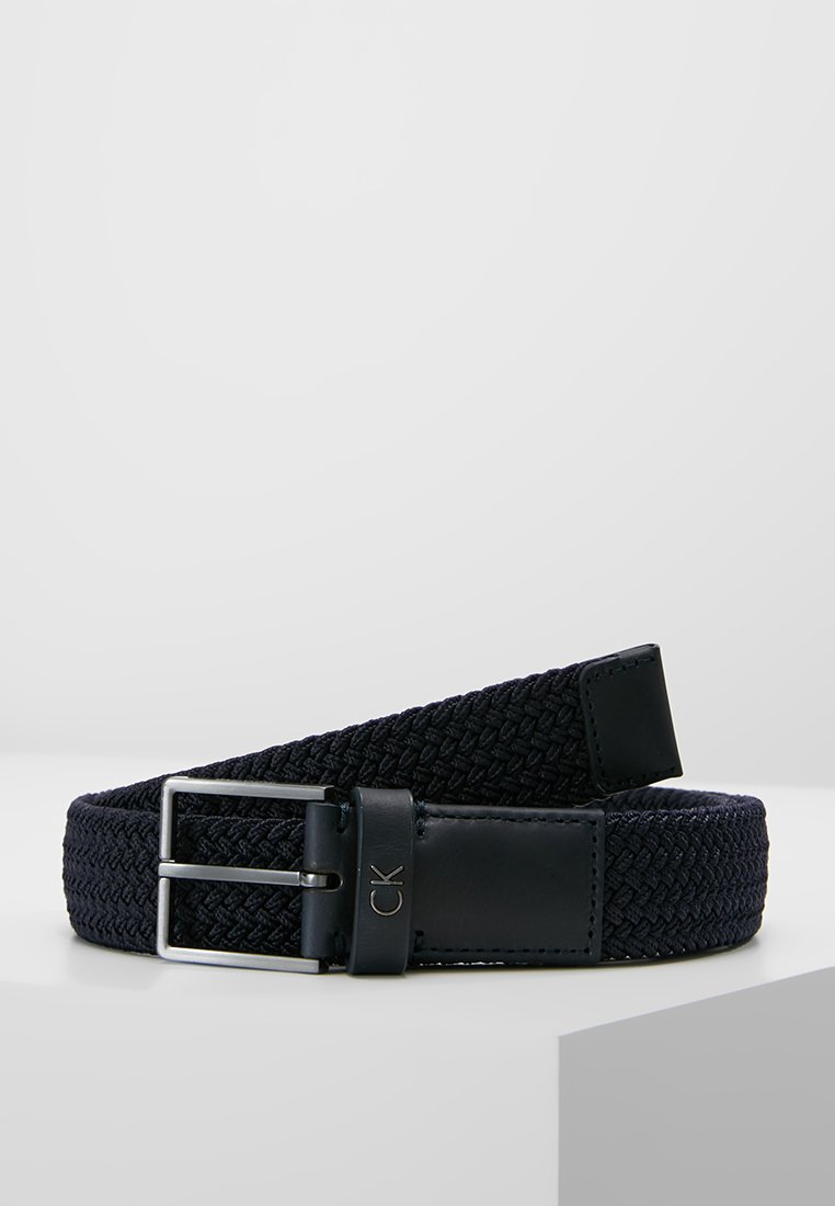 Calvin Klein - FORMAL ELASTIC BELT - Belt - blue