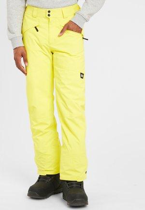 HAMMER - Schneehose - yellow