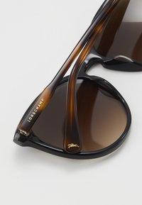 Longchamp - Okulary przeciwsłoneczne - black/havana - 2