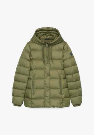 Down jacket - natural olive