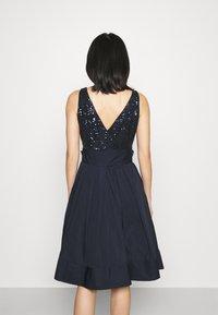 Lauren Ralph Lauren - YUKO-SLEEVELESS-COCKTAIL  - Cocktail dress / Party dress - lighthouse navy - 2