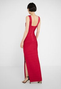 Hervé Léger - ICON-GOWN WITH SIDE SLIT - Abito da sera - rogue - 2