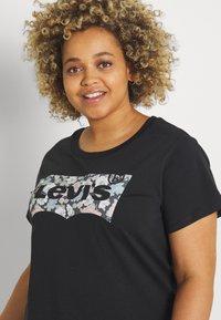 Levi's® Plus - PERFECT TEE - Print T-shirt - black - 3