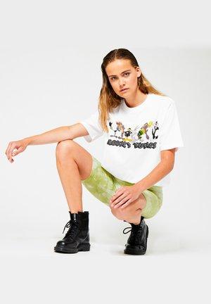 EZRA - Print T-shirt - white
