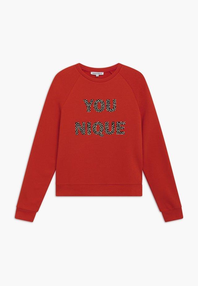 KOSMO - Sweatshirt - valient poppy