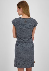 alife & kickin - SHANNAAK - Jersey dress - marine - 2