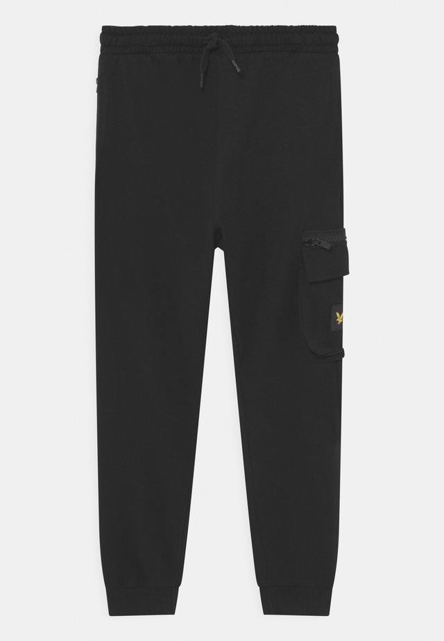 ZIP POCKET - Trainingsbroek - black