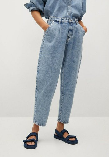 Relaxed fit jeans - lichtblauw