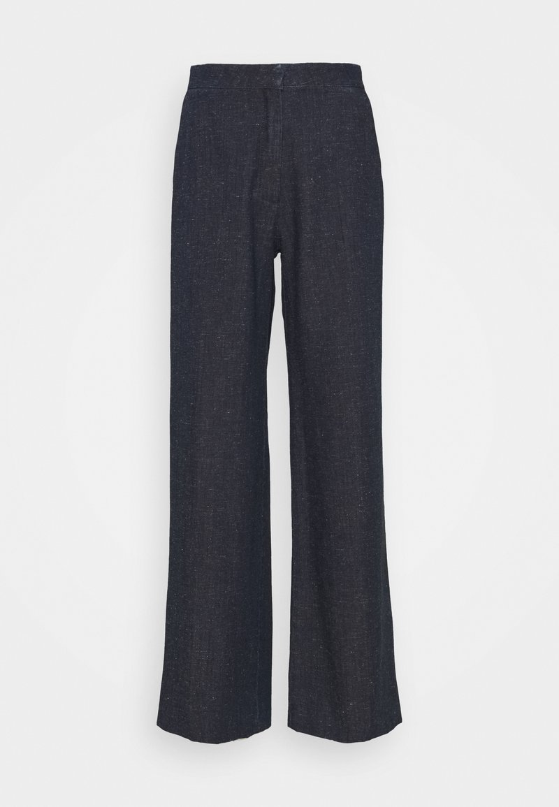 Samsøe Samsøe - COLLOT TROUSERS - Trousers - aqua blue