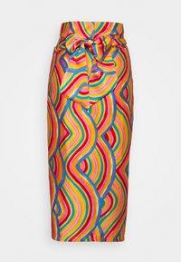 Never Fully Dressed Petite - RAINBOW SWIRL JASPRE SKIRT - Jupe crayon - multi - 1
