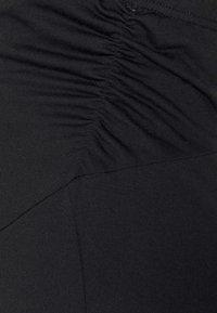 Anna Field MAMA - Spodnie treningowe - black - 5