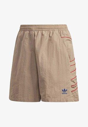 ADICOLOR LARGE LOGO SHORTS - Shorts - brown