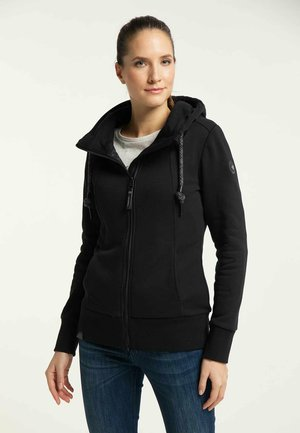 LIBRIA PROTECT - Zip-up hoodie - black