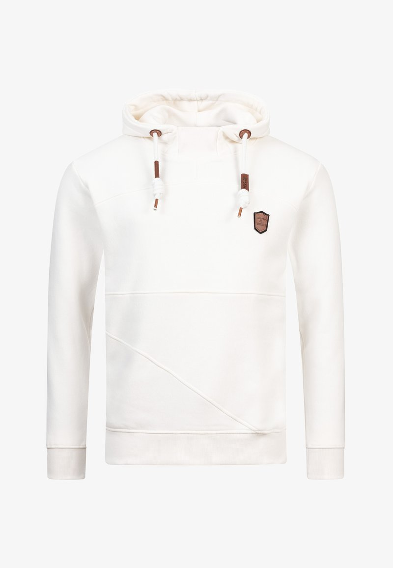 INDICODE JEANS - Hoodie - offwhite