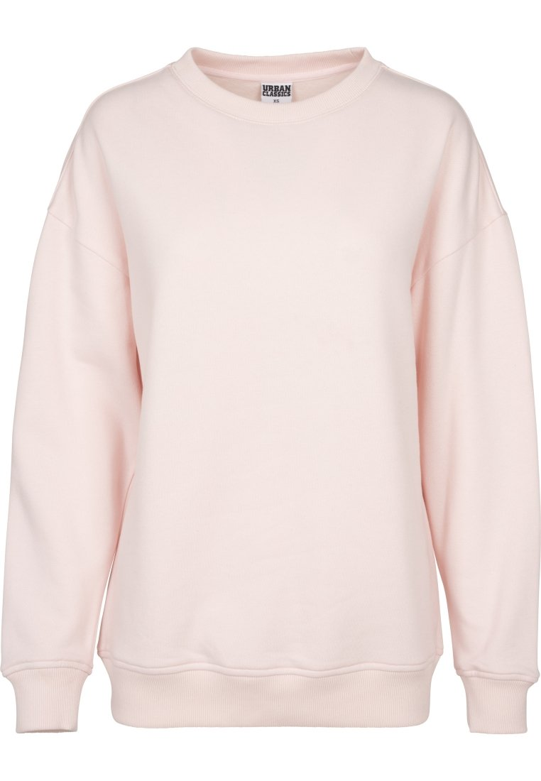 Urban Classics Ladies oversized crew sweater sweater cream