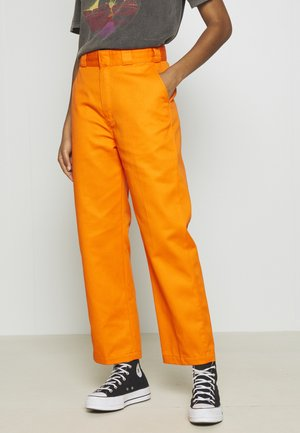 ELIZAVILLE - Trousers - bright orange