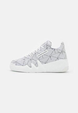 TALON - Baskets basses - bianco/nero