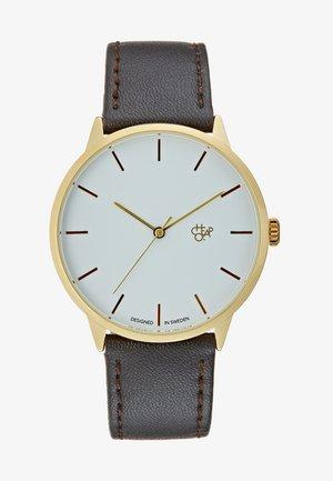 KHORSHID  - Watch - gold-coloured/dark brown
