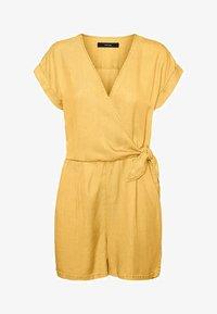 Vero Moda - PLAYSUIT - Jumpsuit - banana cream - 0