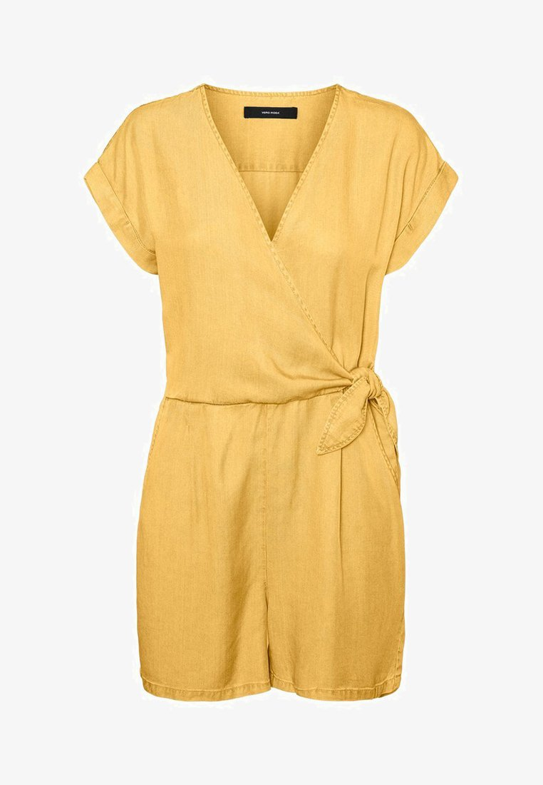 Vero Moda - PLAYSUIT - Jumpsuit - banana cream