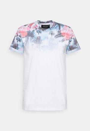 PALENCIA - T-shirt med print - offwhite