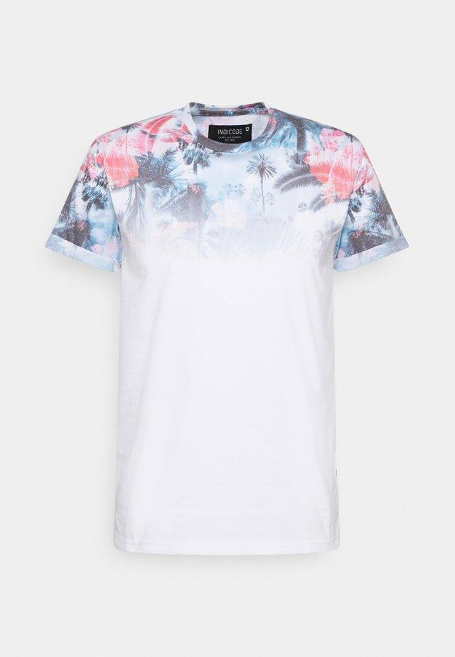 PALENCIA - T-shirt con stampa - offwhite