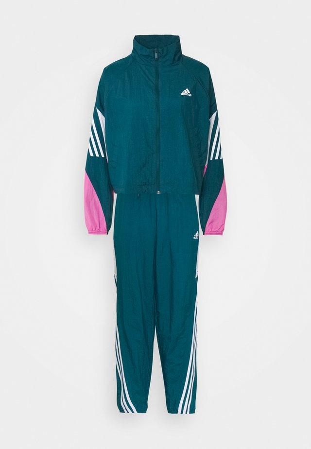 GAMETI SET - Dres - turquoise/white/pink