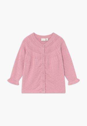 NBFTIFINE CARD - Cardigan - pink nectar