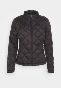 Vila - VIMINSK SHORT QUILTED JACKET - Lett jakke - black - 0