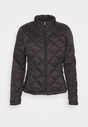 VIMINSK SHORT QUILTED JACKET - Light jacket - black