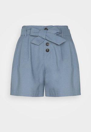 ONLVIVA EMERY  BELT - Shorts - blue mirage