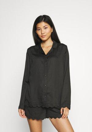 JANE SHIRT - Nachtwäsche Shirt - black