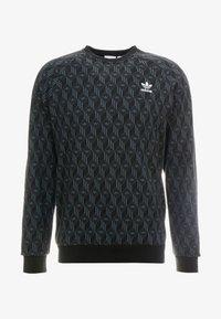 adidas Originals - MONO CREW - Sweater - black - 4
