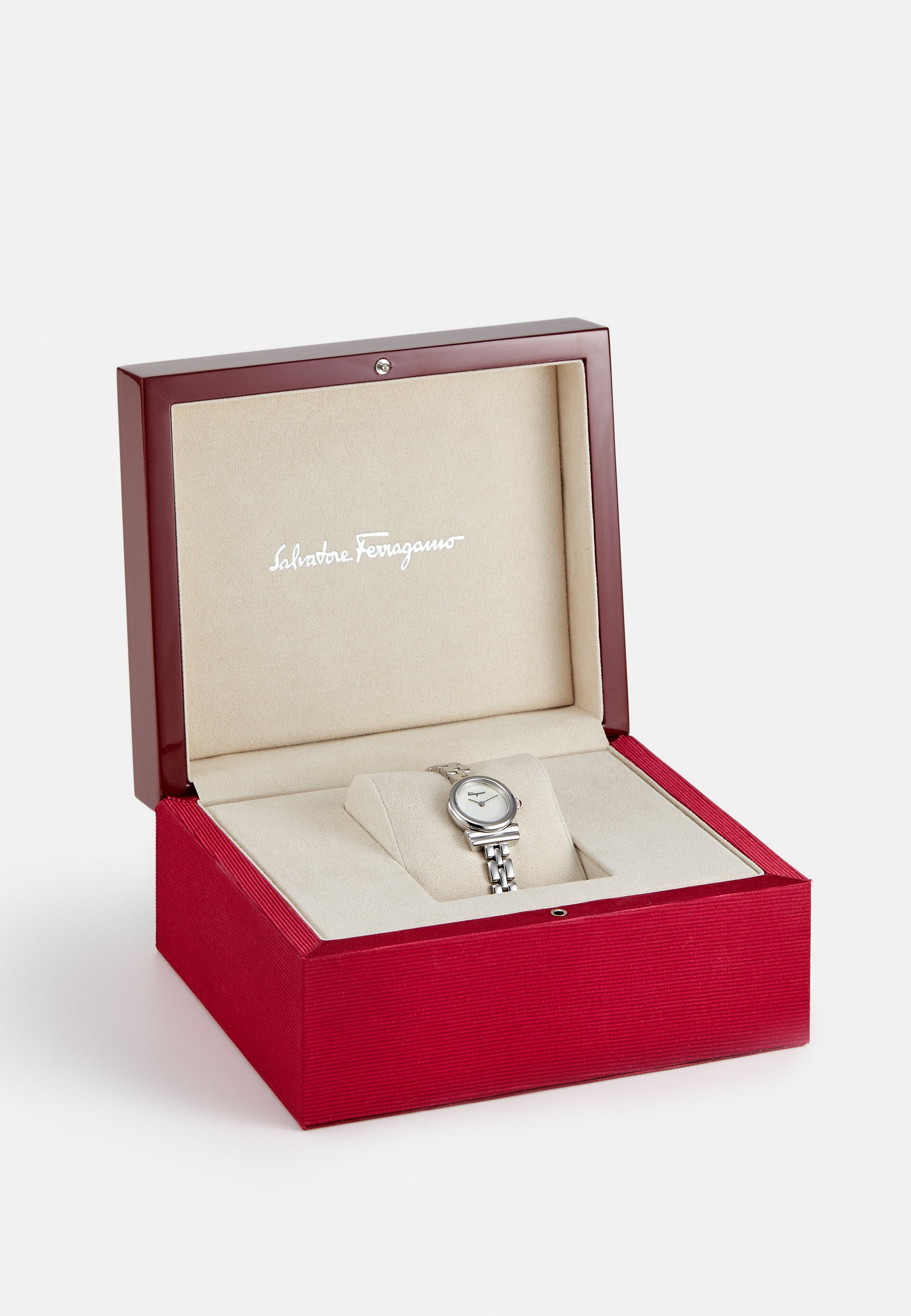 Salvatore Ferragamo GANCINI - Klokke - silver-coloured/sølv S9qTFaFjODF5EwQ
