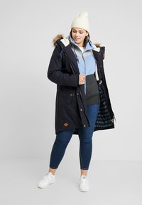Ragwear Plus - COAT - Parkatakki - navy - 1