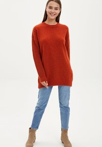 DeFacto - TUNIC - Long sleeved top - orange - 1
