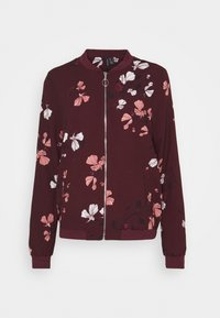 Vero Moda Tall - VMANNIE BOMBER TALL - Bomber Jacket - winetasting/hallie - 0