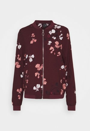 VMANNIE BOMBER TALL - Bomber Jacket - winetasting/hallie