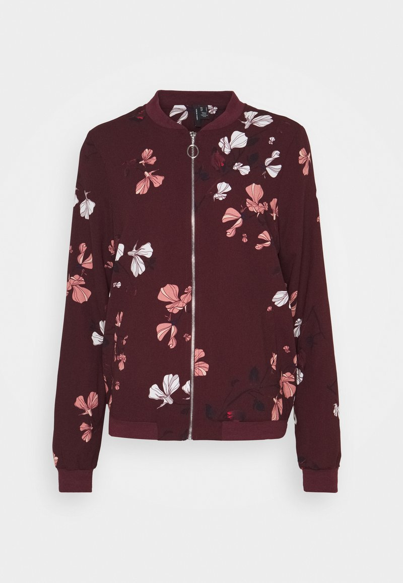 Vero Moda Tall - VMANNIE BOMBER TALL - Bomber Jacket - winetasting/hallie