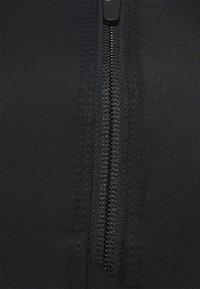 Nike Performance - SHAPE ZIP FRONT BRA - High support sports bra - black - 2