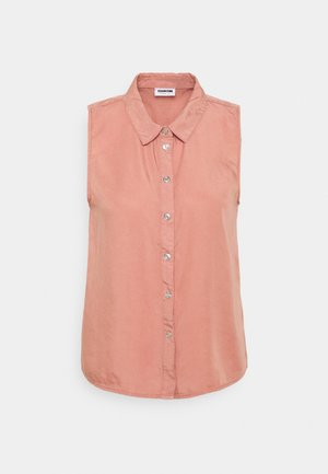 NMDANNY ENDI - Button-down blouse - old rose