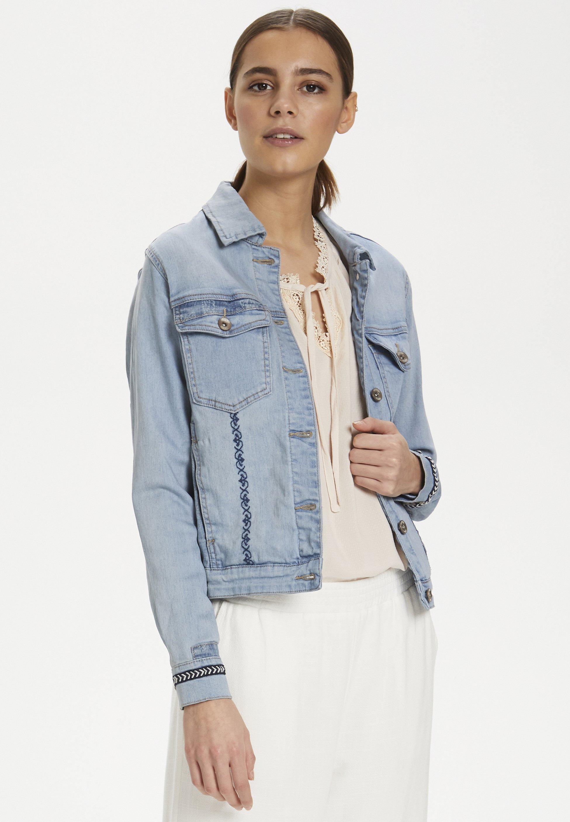 Cream SIRIDCR - Veste en jean - denim blue - Vestes Femme ZMnMN