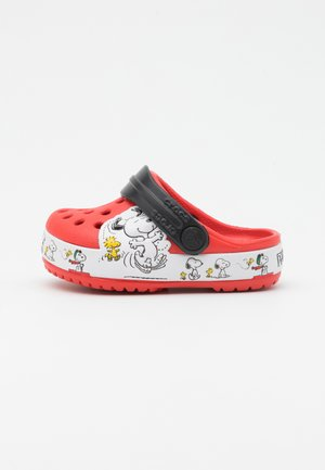 SNOOPY WOODSTOCK UNISEX - Pantofle - flame