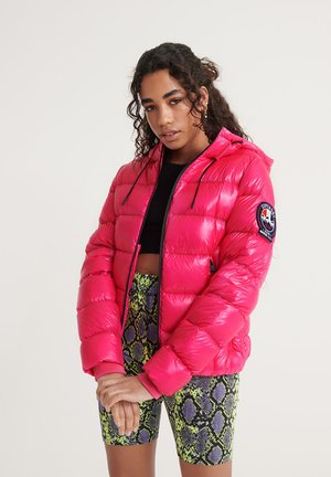 Down jacket - raspberry sorbet