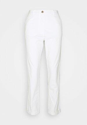 Chino kalhoty - white