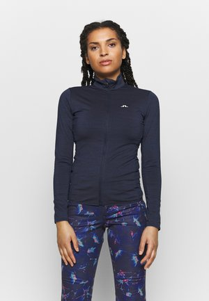 Fleece jacket - navy melange
