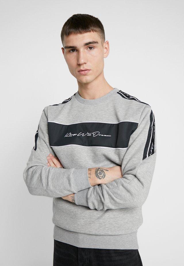 NOSTON WITH SIGNATURE LOGO - Sweatshirt - grey