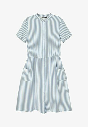 Shirt dress - ashley blue